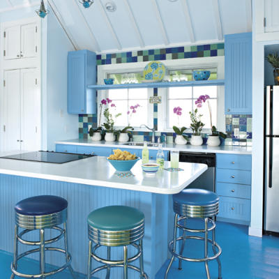 Blue Kitchen L