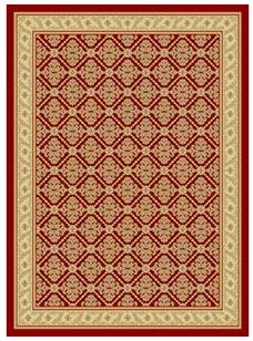 Damask II Area Rug - Outdoor Rugs - All Weather Rugs - Rugs