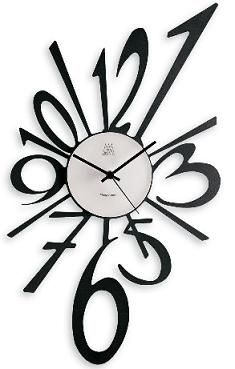 Unique modern wall clock with an explosive flair home - Wanduhr modern weiay ...
