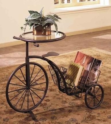 Tricycle-Table-Magazine-Rack