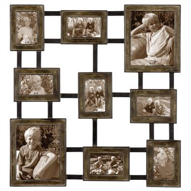 Wall-Photo-Art-Picture-Collage-Iron-Frame