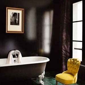 black-bathroom-walls