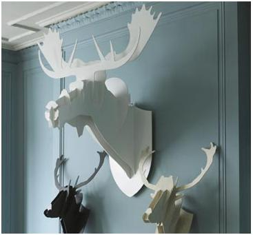 deer-moose-abstract-trophy-heads