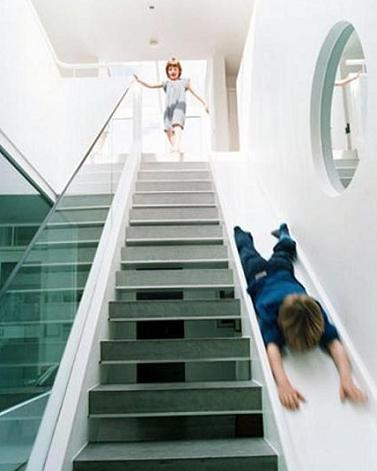 modern-staircase-with-slide