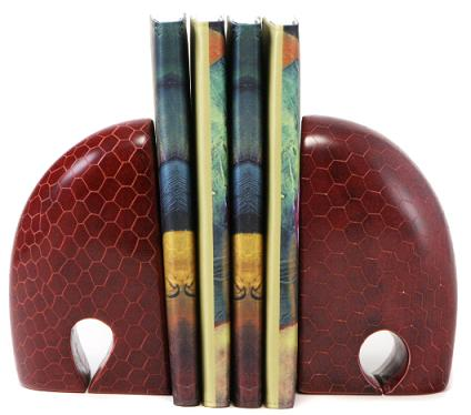 red-elephant-bookends-kenya