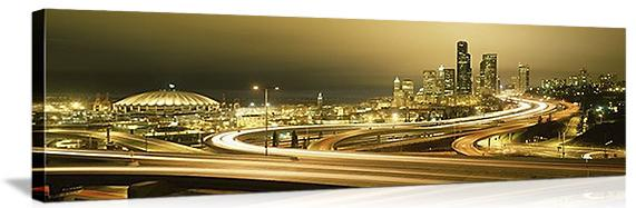 seattle-canvas-prints-city-traffic