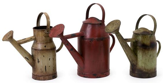3-decorative-watering-cans-rustic