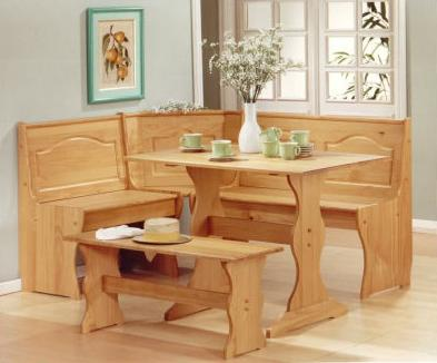 Chelsea Nook  Piece Dining Set For a Corner of the Kitchen - Home