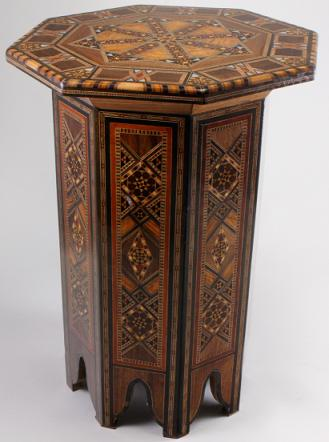 Octagonal-Syrian-Table