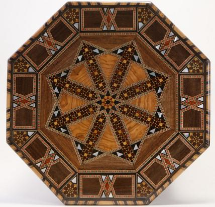 octagonal-mosaic-islamic-inlay-table