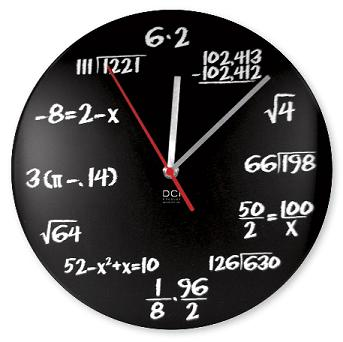 math-wall-clock