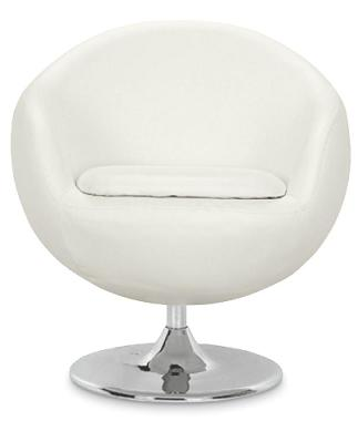 white leather office chair | eBay