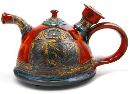 bulgarian-ceramic-tea-pot-danko-colorful