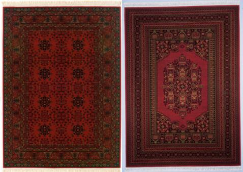 deep-red-afghan-rugs-traditional
