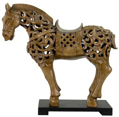 Resin chinese horse sculpture a symbol of china s long equine