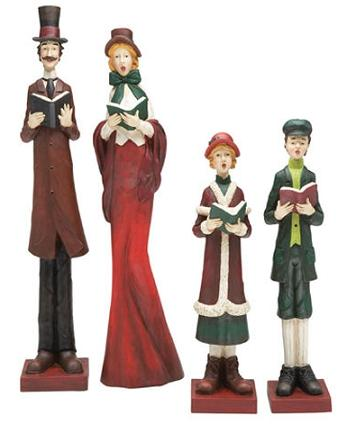 victorian-christmas-figurines-family-singing-carols
