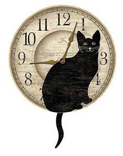 wagging-cat-tail-pendulum-wall-clock