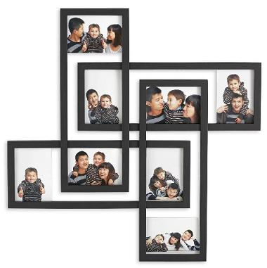 Rectangular Interwoven Wall Picture Frames For Multiple Photos And
