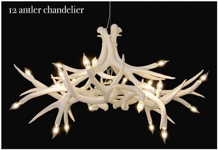 White ceramic superordinate antler chandelier by jason miller home the white ceramic superordinate antler chandelier by jason miller mozeypictures Image collections
