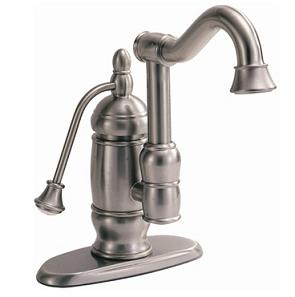 High-End Bathroom Faucet with Pump Handle - Home Interior Design Themes