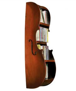 House Interior Designs on Cello Shaped Cd Wall Rack   Home Interior Design Themes