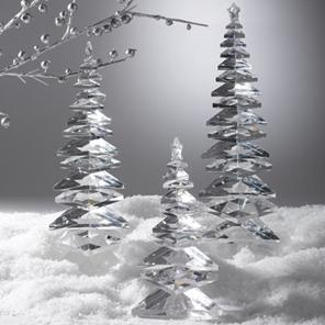the three crystal trees - Crystal Christmas Tree