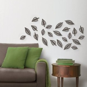 Genial These Wall Décor Leaves Individually ...